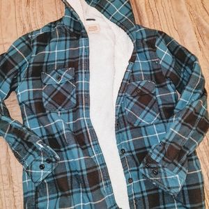 {Boston Traders} Sherpa lined flannel